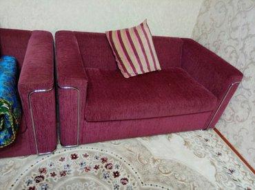 диван и кресло в отличном состоянии в Бишкек