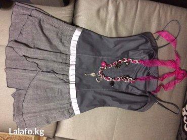Платье размер м надевала 1 раз на выпускной в Бишкек