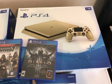 LIMITED EDITION GOLD SONY PS4 SUPER BUNDLE! INCLUDES: x2 Brand New in Kathmandu