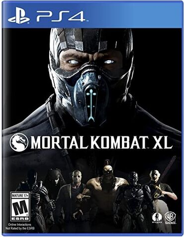 sony dcr vx2100e в Азербайджан: Ps4 ucun Mortal Kombat XL oyunu .Hec bir cizigi yoxdur ev