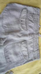 H&m muske pantalone bež boje lanene - Odzaci