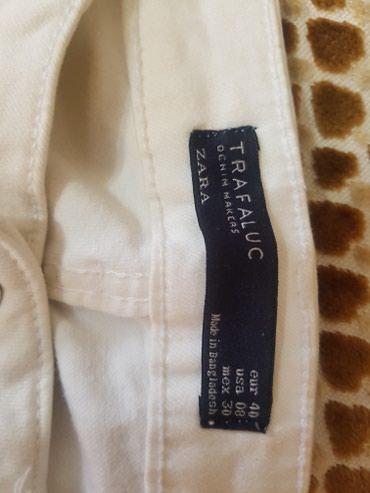 Джинсы белые Zara оригинал (размер ушила до 28) в Бишкек