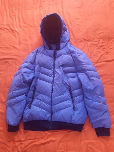 Куртка пуховик Adidas очень тёплая, Б/У носили один сезон