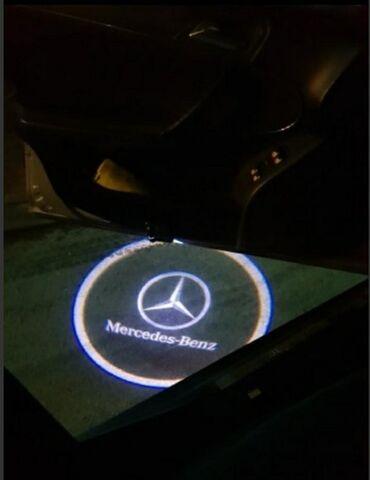 Tuning i styling oprema - Srbija: NOVI Mercedes led univerzalni logo /projektori za vrata bez bušenja