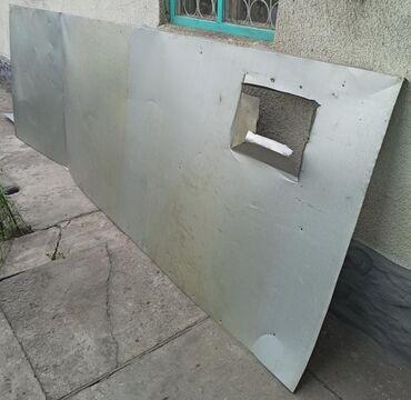 биндеры-320-листов-электрические в Кыргызстан: Оцинкованный металл б/у, толщина 0,5 мм, 3 листа:✓ 3,60 м × 1,25 м✓