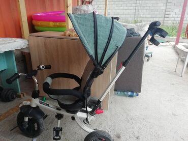 велосипед с детской коляской в Кыргызстан: Детский велосипед. В хорошем состоянии. Нет дефектов. Мало