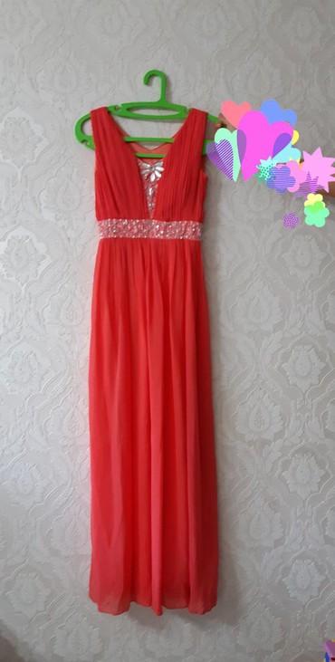 женское платье размер 46 48 в Кыргызстан: Женское Вечернее Платье Подходит на 46-48 размеры Арбузного цвета