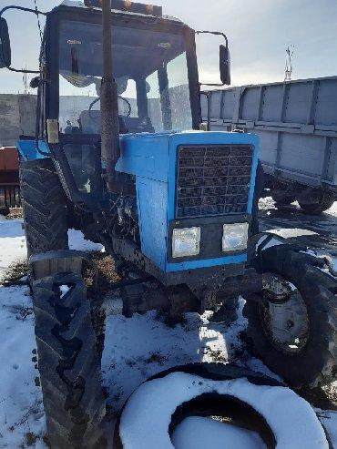 Трактора б у - Кыргызстан: СРОЧНО продаю МТЗ-82 И ПРЕССПОДБОРЩИК КИРГИЗСТАН! Трактор МТЗ-82