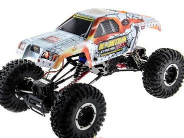 Remo hobby mountain lion xtreme 4wd 4ws 2. 4ghz 1/10 rtr + акк и в Бишкек