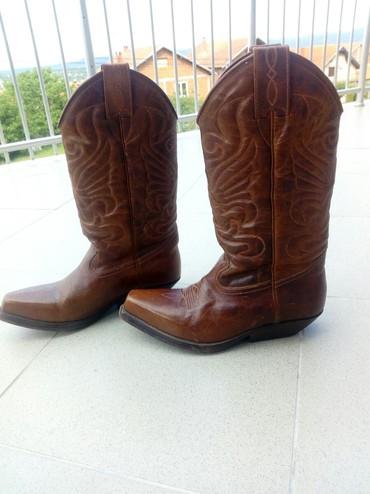 Kožne čizme visokog kvaliteta,ručne izrade,dobijene i nikad nisu - Kragujevac