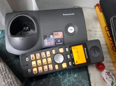 Радио телефон Panasonic хорошо работает , далеко ловит в Бишкек