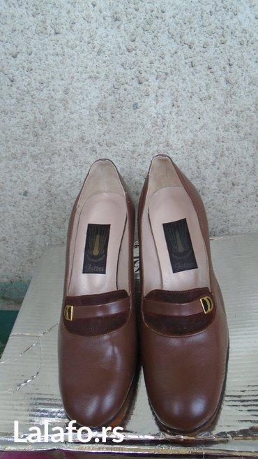 Cipele stikle visina - Srbija: Nove braon cipele, modne kuce apatin, broj 38. Visina stikle je 6,5