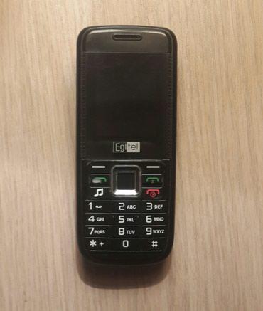 Gəncə şəhərində Gencede. EglTel sade telefon. 2 nömre. Yaddaş kart destekleyir.