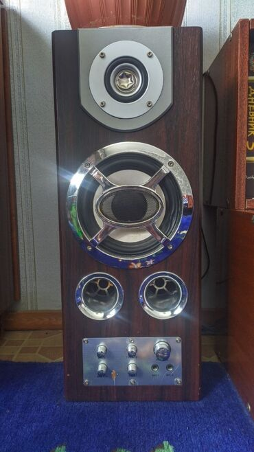 акустические системы колонка сумка в Кыргызстан: Продаю акустические колонки 2 шт в нормальном рабочем состоянии