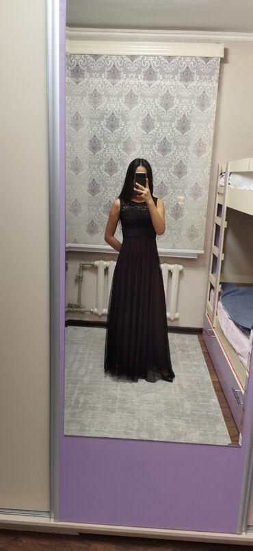 вечернее платье ручной работы в Кыргызстан: Лёгкое летящее платье. Ручная работа. С чашечками (можно носить без бю