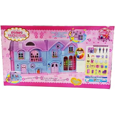6595 объявлений: Домик для кукол.Огромная площадка для игры в куклы девочке - это домик