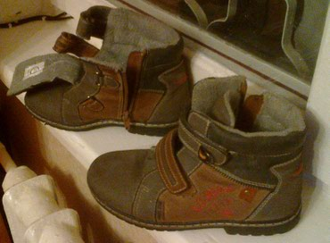 Продаю кожаные сапожки демисезонные в Бишкек