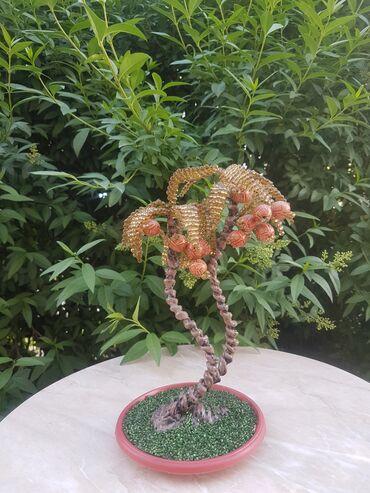 бисера в Кыргызстан: Дерево из бисера - Кокосовая пальма
