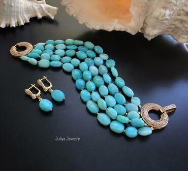 Цепочку и браслет - Кыргызстан: Браслет ручной работы. Авторские украшения Juliya Jewelry. Перуанский