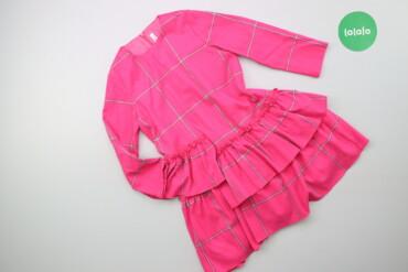 Дитяча сукня у велику клітинку Il Gufo, вік 6 р.    Довжина: 60 см Шир