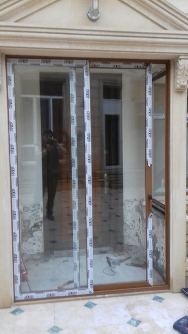 Bakı şəhərində Alminum ve Plastik qapı pencere sifa rişi