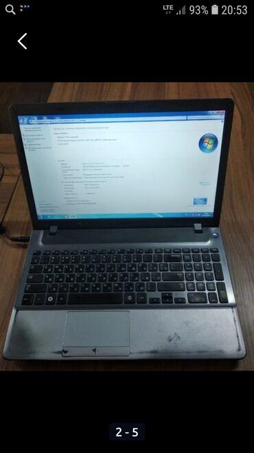 Samsung - Кыргызстан: Ноутбук самсунг батарейку надо менять через кабель работает вайфай