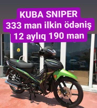 Kawasaki - Azərbaycan: KUBA SNIPER 2020 modelSürət: 160 kmMotorun həcmi: 50 kubIstehsalçı