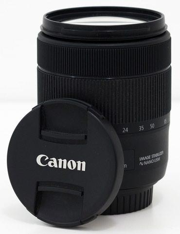 Продаю объектив Canon 18-135 EF-S 1:3.5-5.6 is usm. в Бишкек