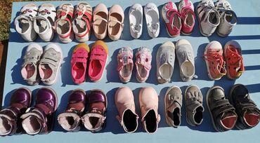 Детская обувь для девочки, в хорошем состоянии, размеры 22-26, цена от