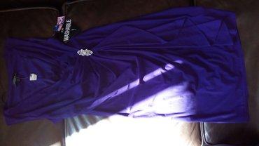 Nova svecana haljina ljubicaste boje vel m ili 38. Dim ; ramena 24-36 - Pancevo