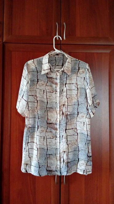 Рубашки и блузы - Кок-Ой: Блузка женская 54 размер,холодок. Военно-Антоновка