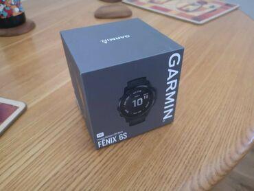 Личные вещи - Нарын: Спортивные часы GARMIN fenix 6S Pro - Черные. Новые, коробка не