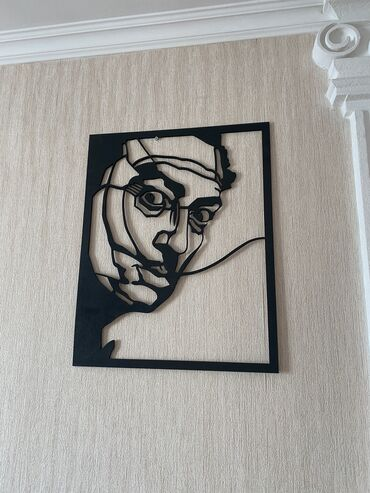Продам . Картина из фанеры Сальвадора Дали