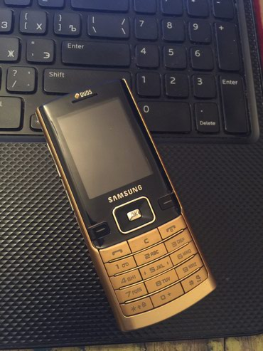 Samsung d780 - Azərbaycan: İşlənmiş Samsung D780 qızılı