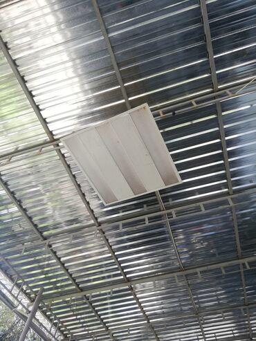 Декор для дома - Кара-Балта: Продаю LED светильники 60х60 Б/У