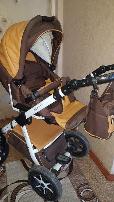 Продается коляска эко кожа в Кара-Балта