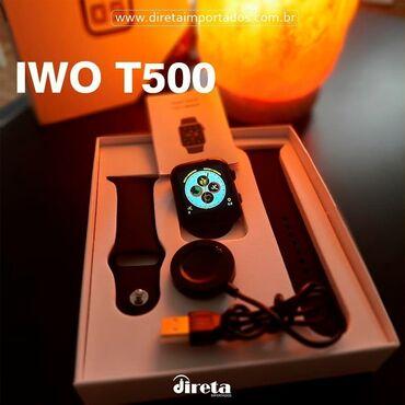 Smart watch T500 Pro - 75AZN  Gələn zəngləri göstərir  SMS bildirişlə