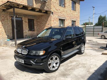 Bmw x3 xdrive20i mt - Кыргызстан: BMW X5 3 л. 2001 | 259000 км