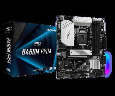 ASRock B460M Pro4 Новая не распакованная Характеристики смотрите в