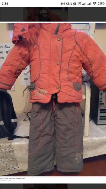 купальники для мальчиков в Кыргызстан: Продаю: Йф. зимний комбинезон на девочку 3-5 лет, смотря какой