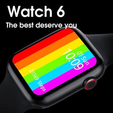 Smart Watch6 / Apple watch series 6Tam bütöv ekran, kəməri dəyişir
