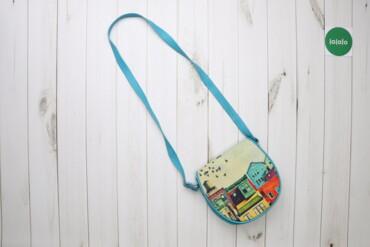Жіноча сумочка на плече з малюнком    Довжина: 83 см  Стан гарний