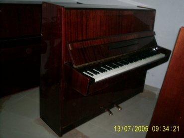 Gəncə şəhərində Belarus Piano Sailir