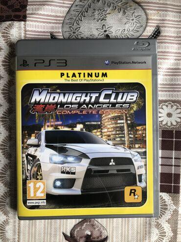 PS3 игра MIDNIGHT CLUB 湾岸 LOS ANGELES complete edition