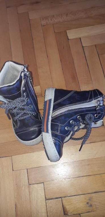 Kozne cipelice za decaka. Br 23. Dva puta nosene. Tople i prelepe