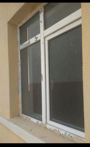 pencere - Azərbaycan: Plastik pencere 146 eni×152 hundurluyu3 ededdirBiri 60m. unvan