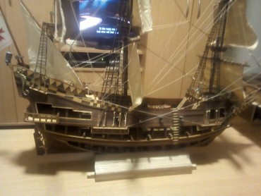 Modeli brodova   Srbija: Na prodaju maketa jedrenjakaSan Giovanni Battista ( Sveti Jovan