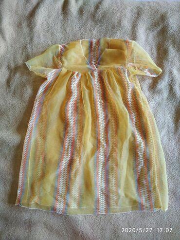 Платье 6-8 лет, сетка новое - 50 сом