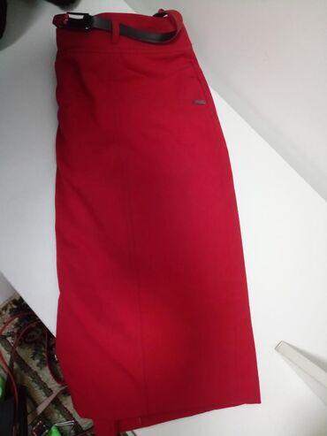 Классическая юбка, в идеальном состоянии, стрейчевая. Размер 46-48