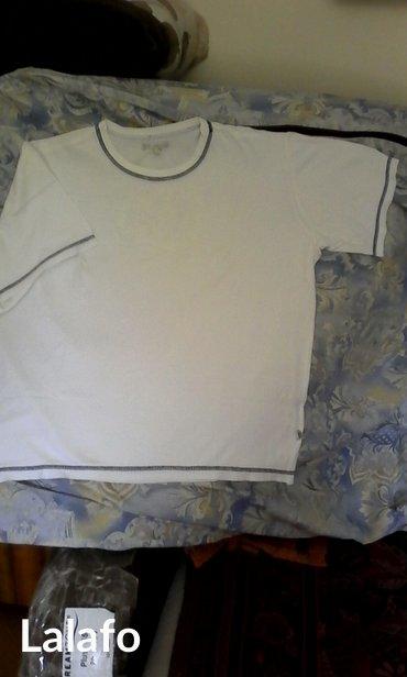 Muska bela majca, tfy product, velicina l, sa diskretnim vezom na - Belgrade